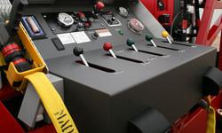powder coating fire trucks