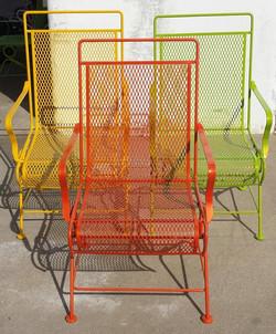 powder coating patio chairs