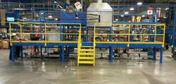 powder coating platform