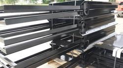 powder coating grain trailers