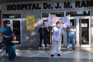 Cautelar a favor de los empleados del Hospital Ramos Mejía.