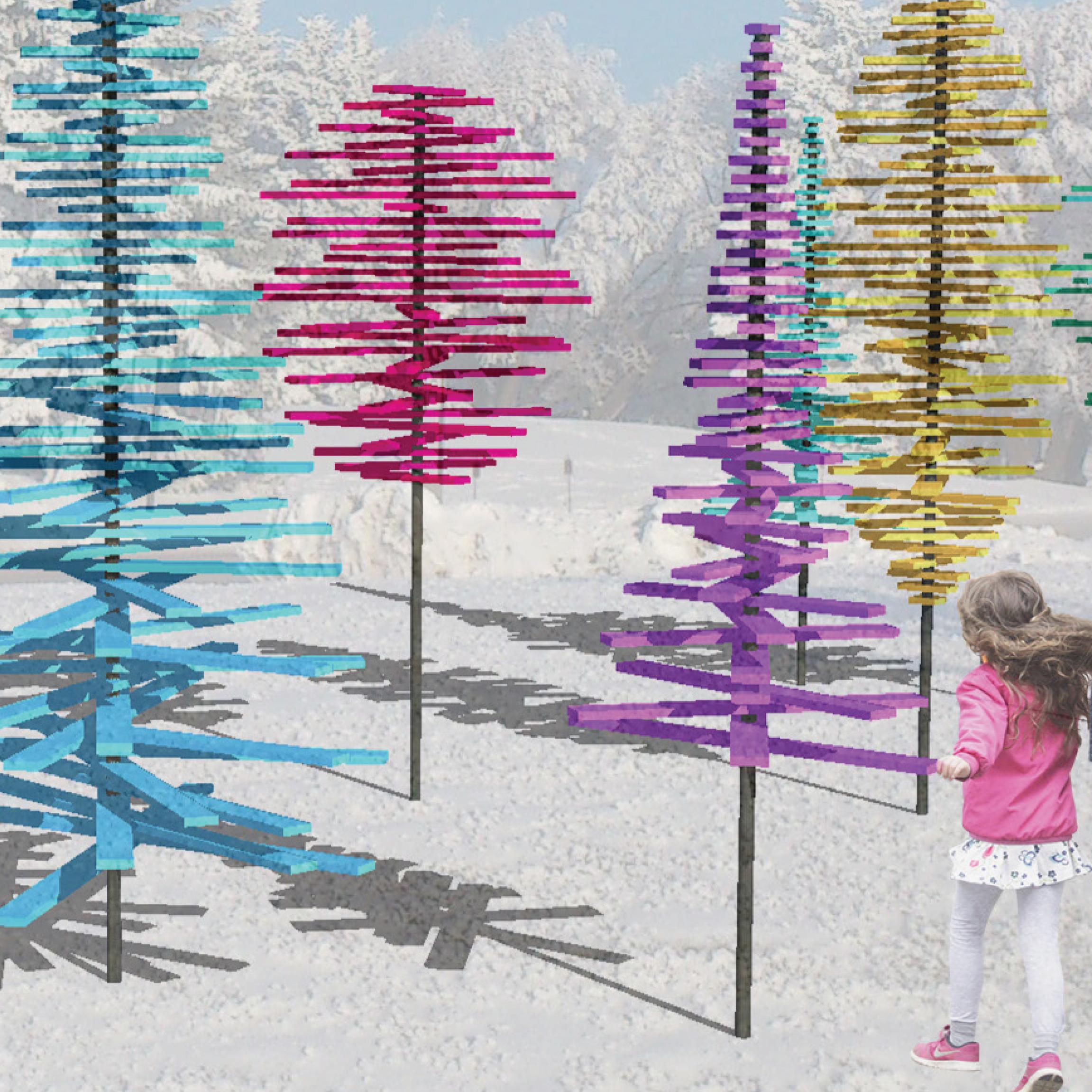 Tree Tops by Brennan Jelinski