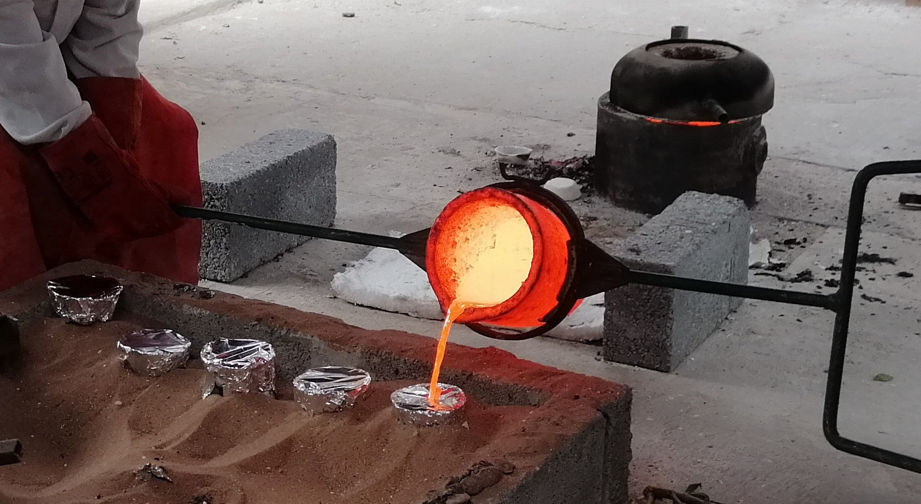 Weekend Bronze Casting Course