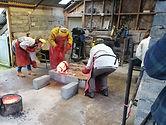 New British Art bronze casting