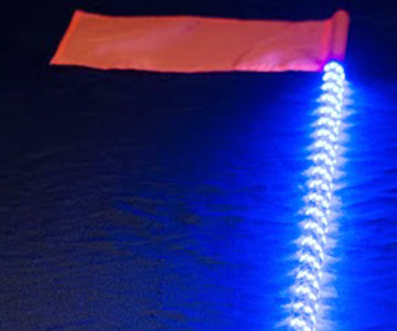 5150 4 Foot LED Whip w/ remote control and quick release base (magnet)
