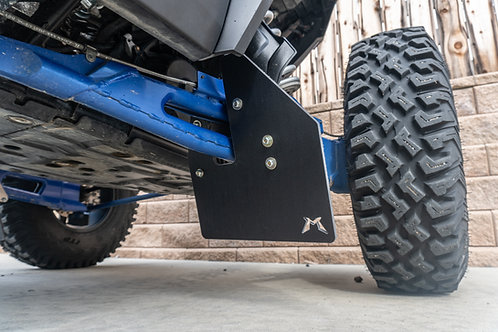 Polaris RZR XP1000 Turbo S Rear Mud Flap Kit