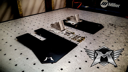 Polaris RZR XP1000 Rear Mud Flap Kit