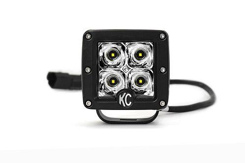 """3"""" C-Series C3 LED Spot Beam Black Single - #1330"""