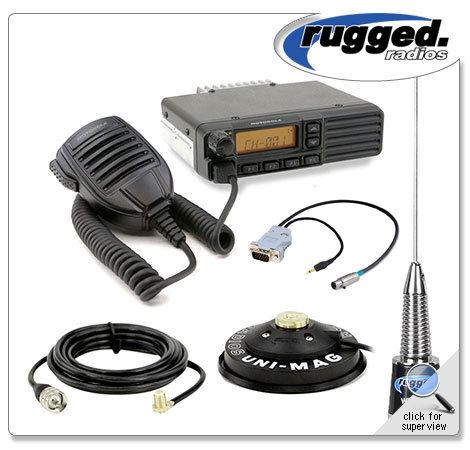Motorola VX2200 50-Watt (VHF) Radio Kit