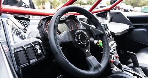 Madigan Motorsports Steering Wheel Leather