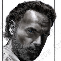 Andrew Lincoln as Rick in The Walking Dead