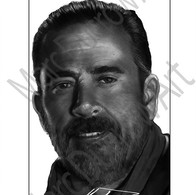 Jeffrey Dean Morgan as Negan from The Walking Dead