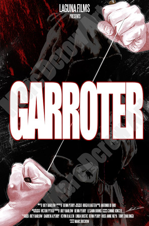 """Garroter"" hand painted by M.D"