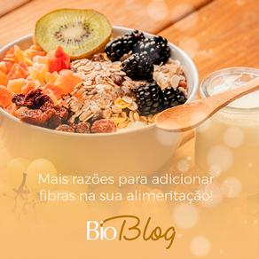 Porque adicionar, hoje mesmo, fibras na sua alimentação!