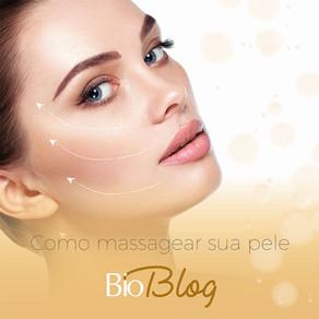 Como massagear a sua pele