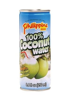 Kokoswasser in der Dose