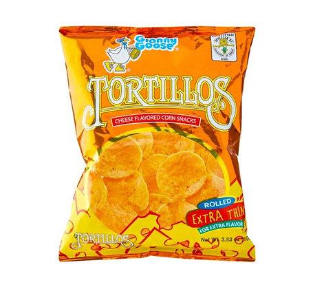 Tortillos Maischips im Beutel.