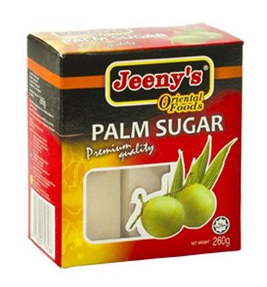 Palmzucker in der Verpackung