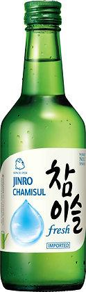 Soju Chamisul Fresh Flasche von vorne