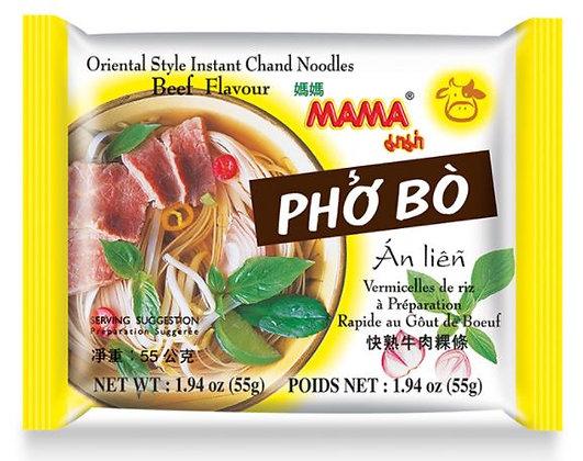Pho Bo Nudeln in der Verpackung