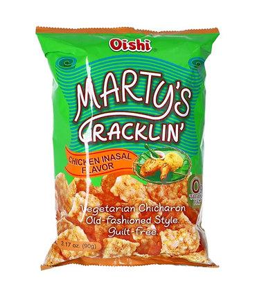 Chicharon Crackers  in der Verpackung.
