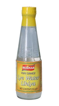 Lye Wasser in der Flasche.