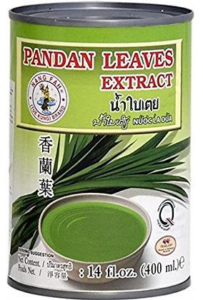 Pandanblätter Extrakt in der Verpackung