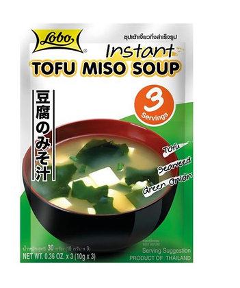 Instant Tofu Misosuppe im Beutel