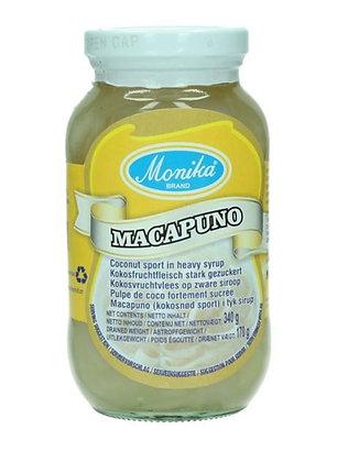 Kokosfruchtfleisch Macapuno im Glas