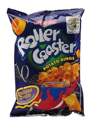 Roller Coaster Kartoffelchips Frontansicht