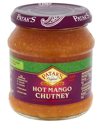 Scharfes Mango Chutney im Glas