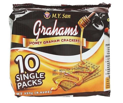 Grahams Cracker in der Verpackung