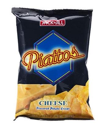 Piattos Kartoffel-Käse Chips in der Verpackung