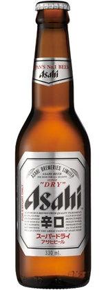 Asahi Bier von vorne