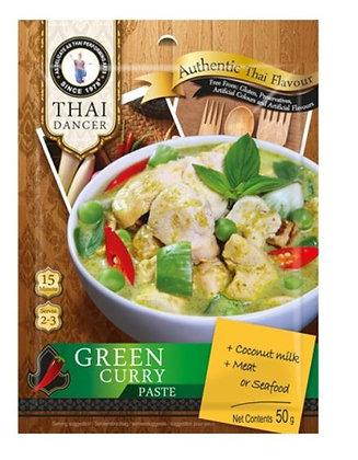 Grüne Currypaste Frontansicht