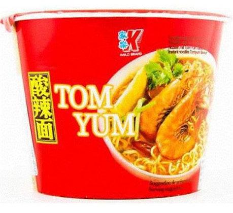 Instant Nudelsuppe TomYum im Container