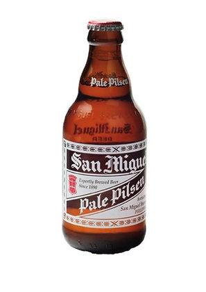 San Miguel Bier Frontansicht