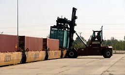 TMX Intermodal freight and transload facility.