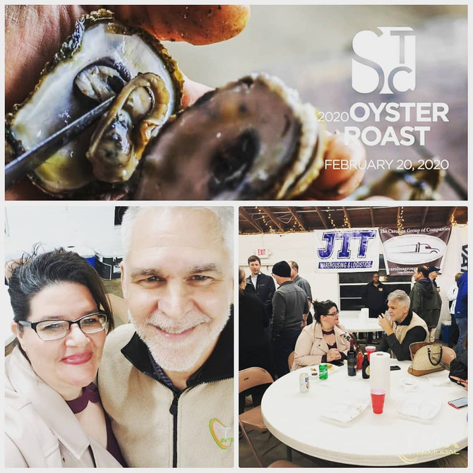 Our Savannah Team attended The Oyster Roast, held by Savannah Traffic Group @ Captain Butlers Retrea