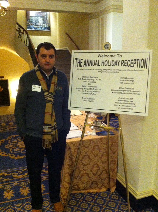 TMX attends the Traffic Club of Chicago's Annual Holiday Reception