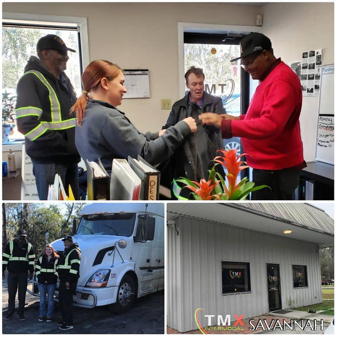 Our office in Savannah GA always caring about our drivers.
