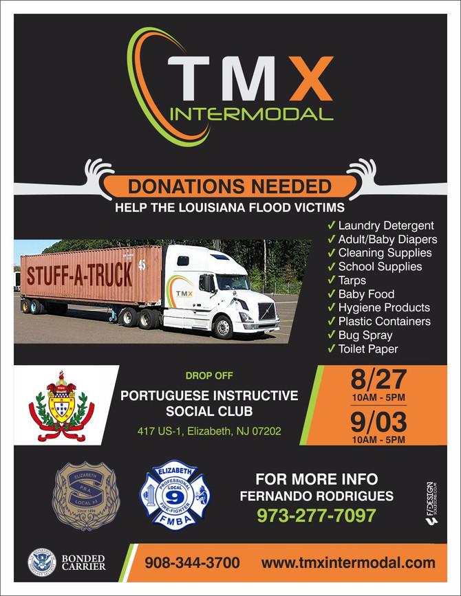 Lending a hand: Local logistics companies donate goods to Louisiana flood victims
