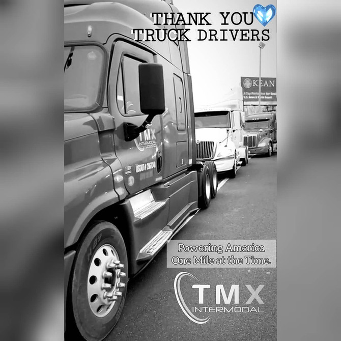 Thank you to all the Truck Drivers Out There!