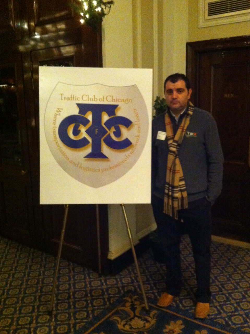 TMX Intermodal attends Traffic Club of Chicago Annual Holiday Reception