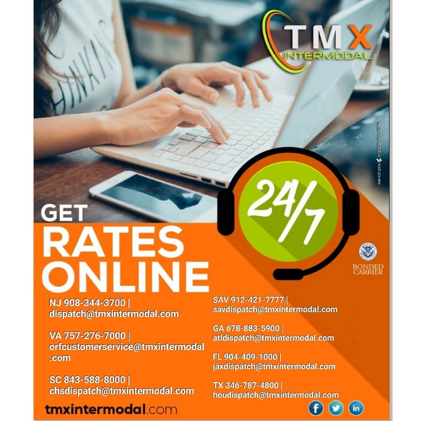 Online Rates Available 24/7