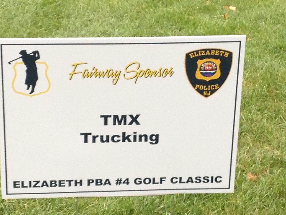 TMX Intermodal sponsors the 2014 Elizabeth PBA golf classic.