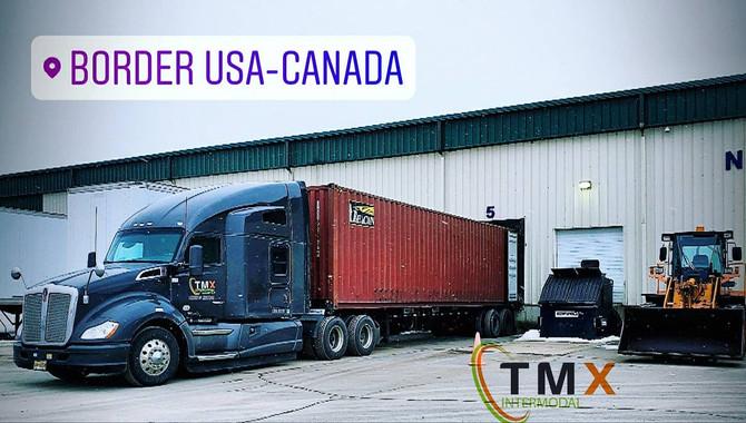 Canada Border - TMX Intermodal has no limits!