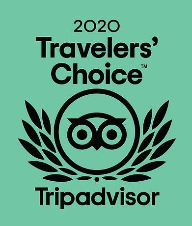 Traveler's Rating 2020 from Tripadvisor