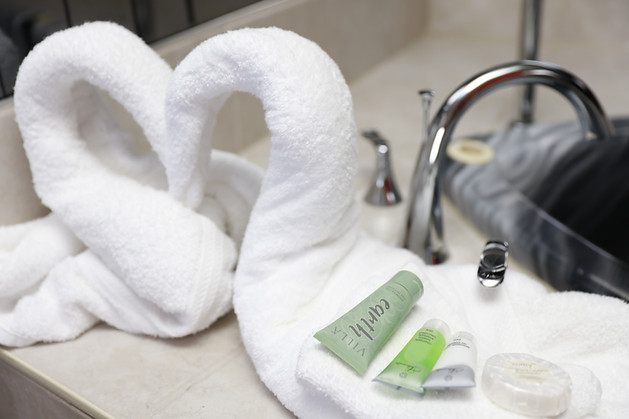 The high-end eco-friendly Villa Earth Amenity Collections are chosen for our Premium Jacuzzi Rooms