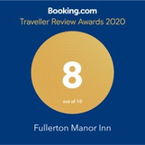 Traveller Review Awards 2020 from Booking.com